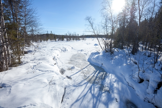 the half frozen river that I fell into. Looks beautiful yet deadly. Once u go in, theres no way out darling :)