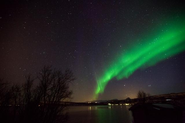 Dancing Aurora all over the Norwegian sky
