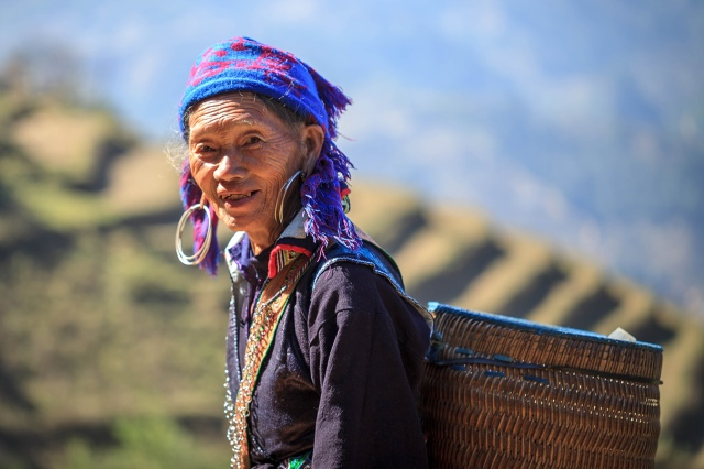 Sapa woman posed for my camera