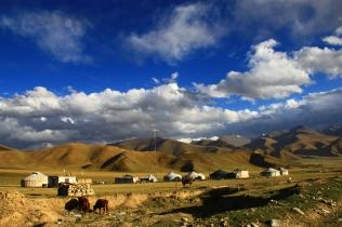The nomad's neighbourhood