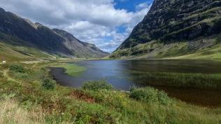 Along the great Glencoe