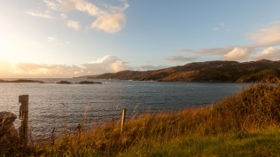 The colours of sunset in Durness