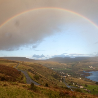 Full rainbow in Uig