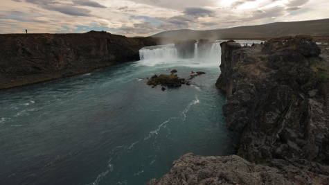 Godafoss (Waterfall of the Gods), Northern Iceland