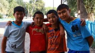 My Kazakh brothers posed for my camera