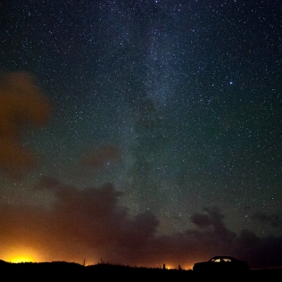 Milky way in Durness