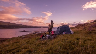 Camping near Uig