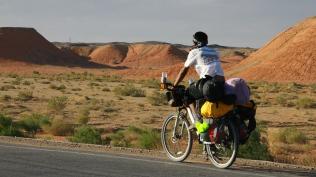 Through the harsh desert