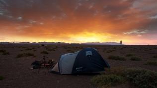 My sand hotel in the desert