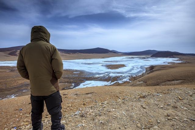 approaching Khovsgol Nuur near Siberia
