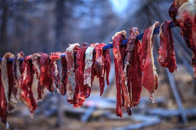 mmmm reindeer meat...