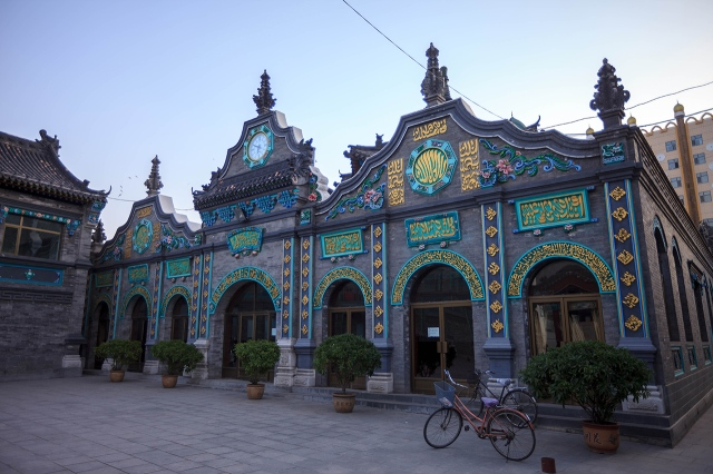 the mosque in Hohhot