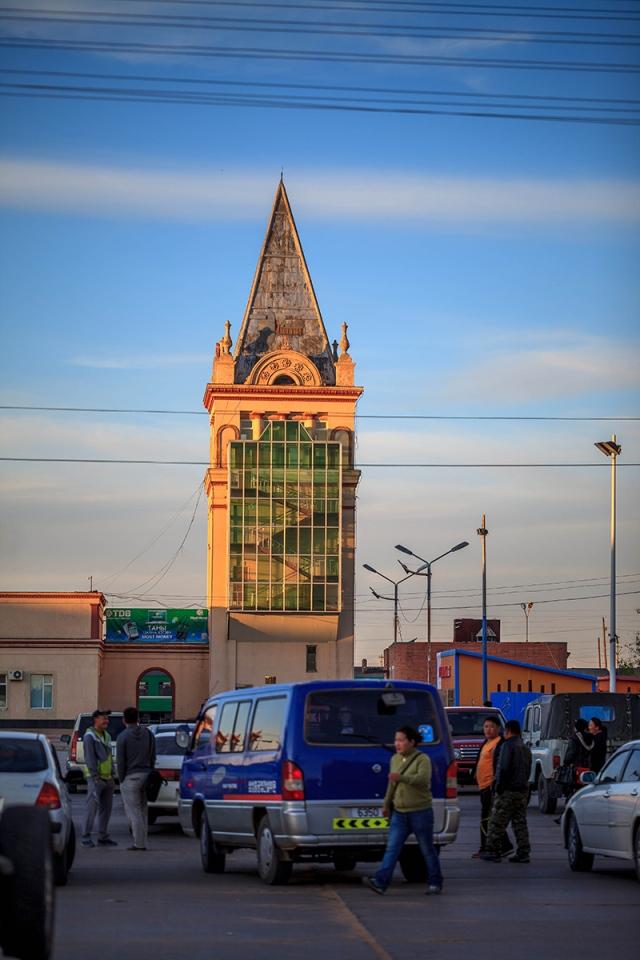 train station in Zamyn Uud
