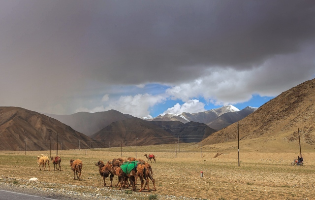 the life in the Pamir Mountains