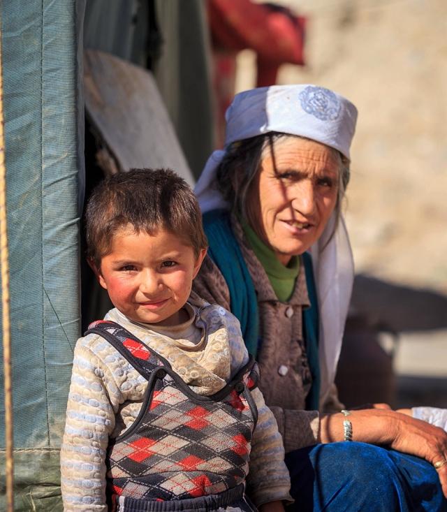 a Tajik family