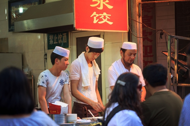 many Muslims in Xi'an