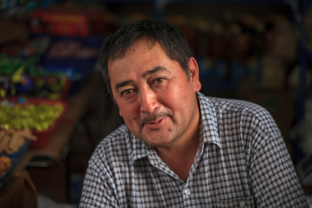 a handsome kyrgyz man who will melt the heart of any woman...