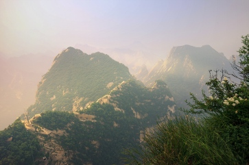 Hua Shan under the morning light