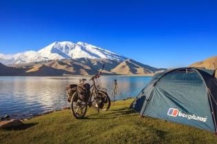 My hotel in the beautiful Karakul Lake, Xinjiang