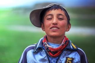 A Tajik boy