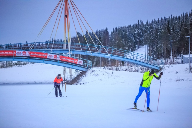 learning skiing from one of the world best ski coach in one of the most famous ski resort in Finland... great experience!