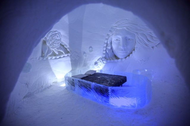 another ice bedroom